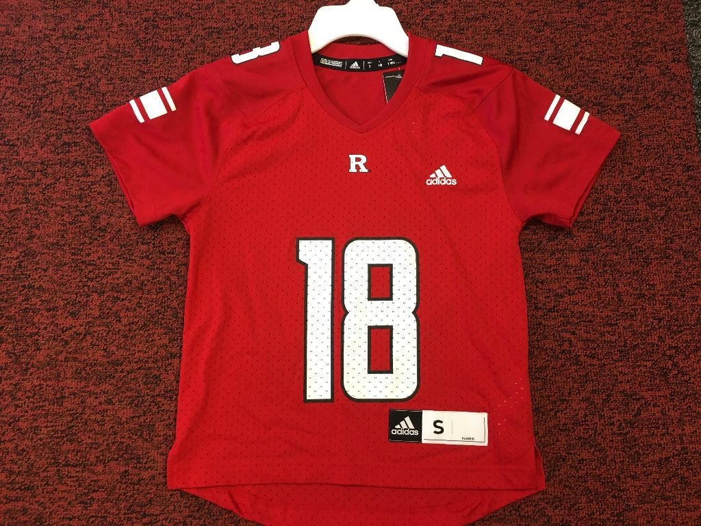 Rutgers Adidas Youth Jersey 18